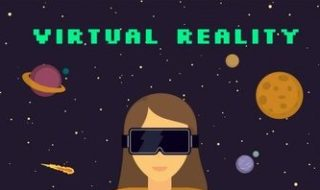 background-with-planets-and-woman-using-virtual-glasses_23-2147608566