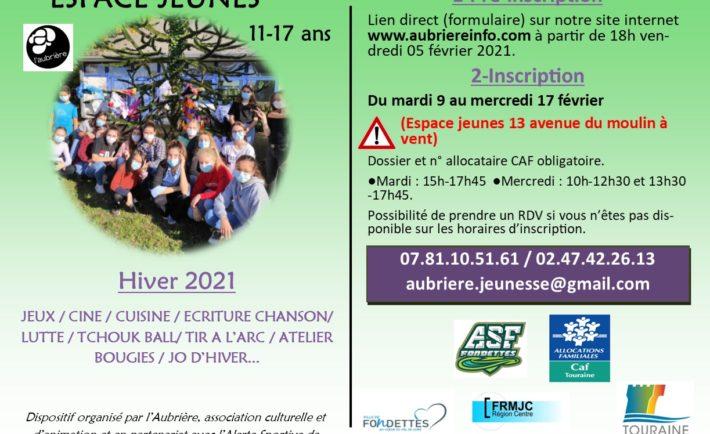 Plaquette Hiver 2021 affiche